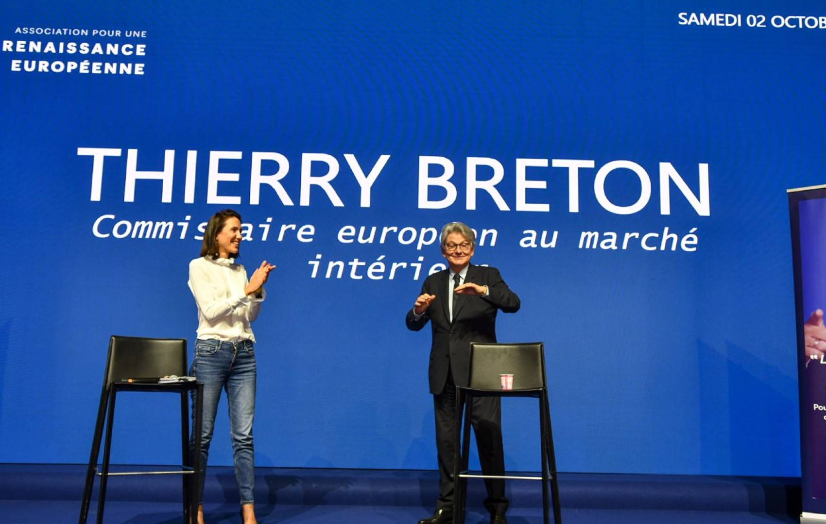 Campus de la Majorité : Thierry Breton, invité spécial de Renaissance européenne